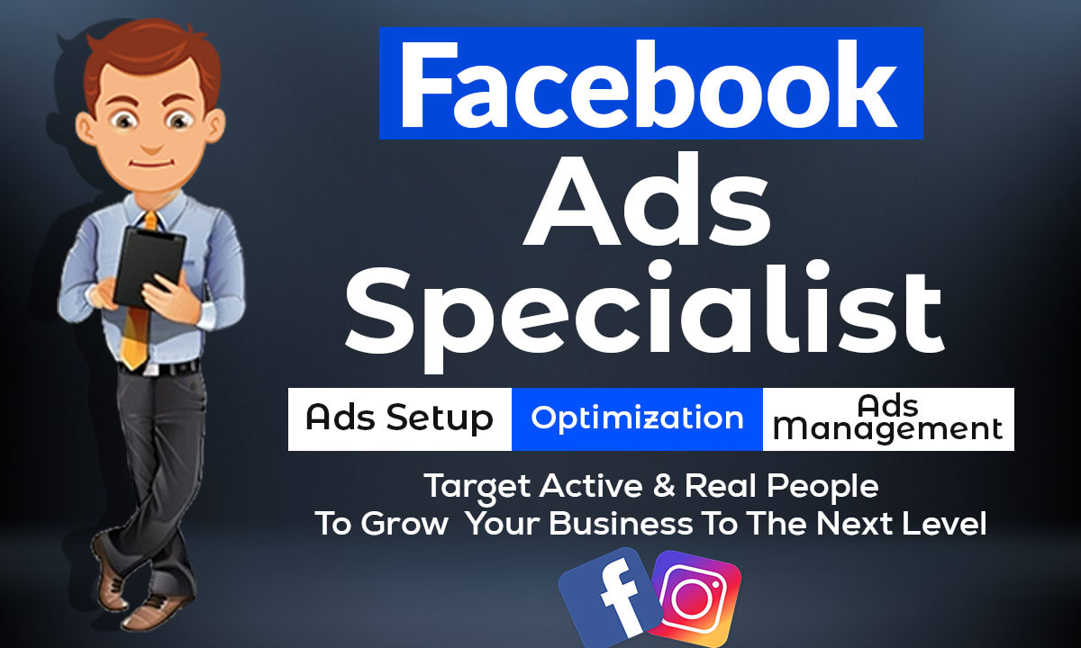 I will setup and optimize facebook ads with best targeted audience
