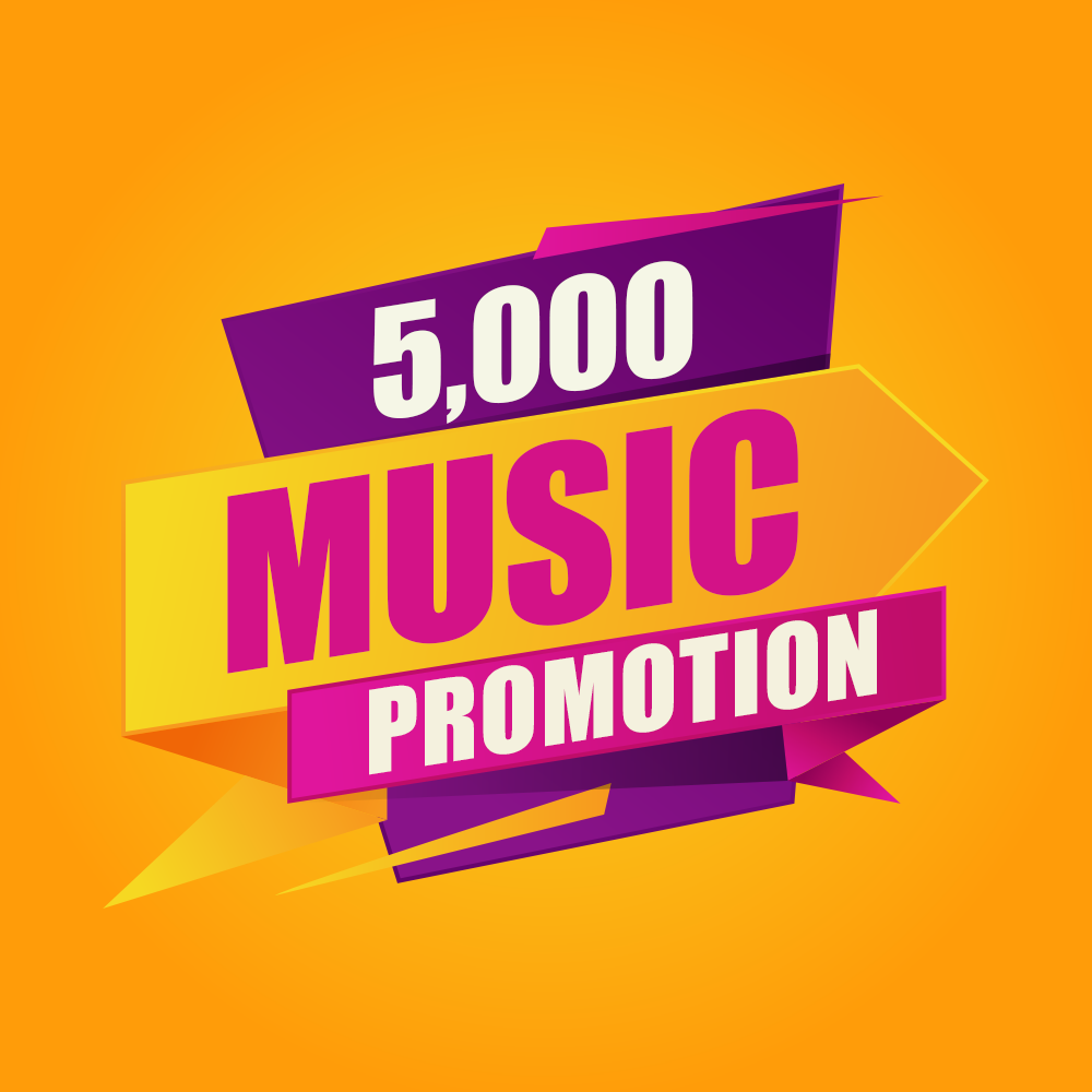 Five Thousand USA Streams Music Promotion
