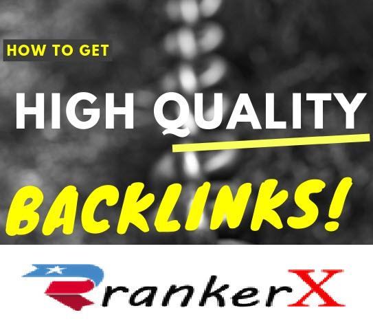 High Quality Rankerx Premuim Backlinks