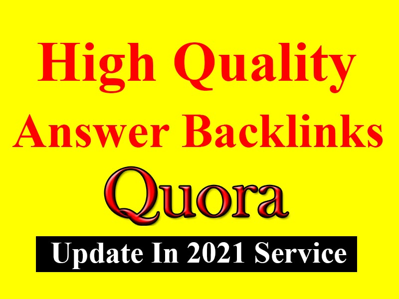 I will promote your website with 100 high quality quora answer backlinks