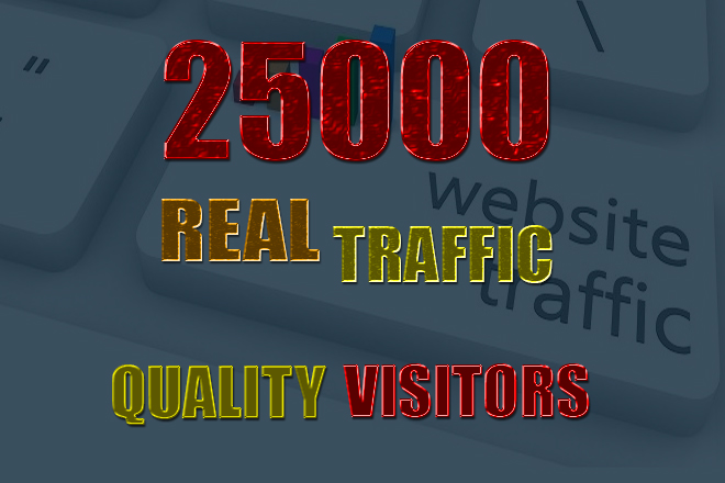 Real human web traffic to your website with proof,  quality visitors