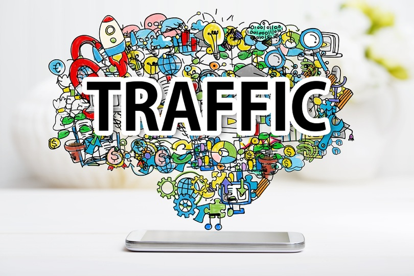 300k visitors real traffic and profitable