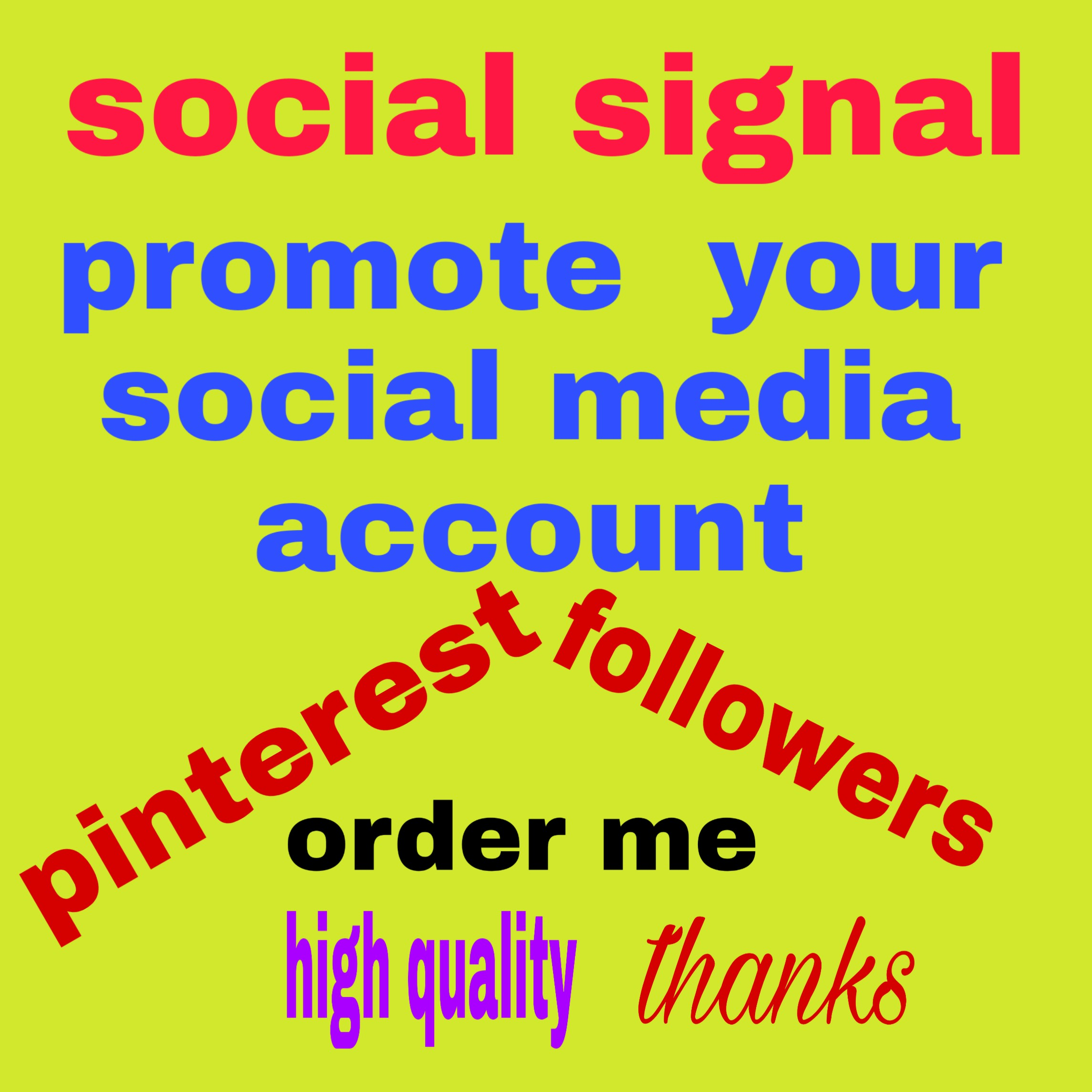 350+ high quality pinterest followers non drop and real world wide followers