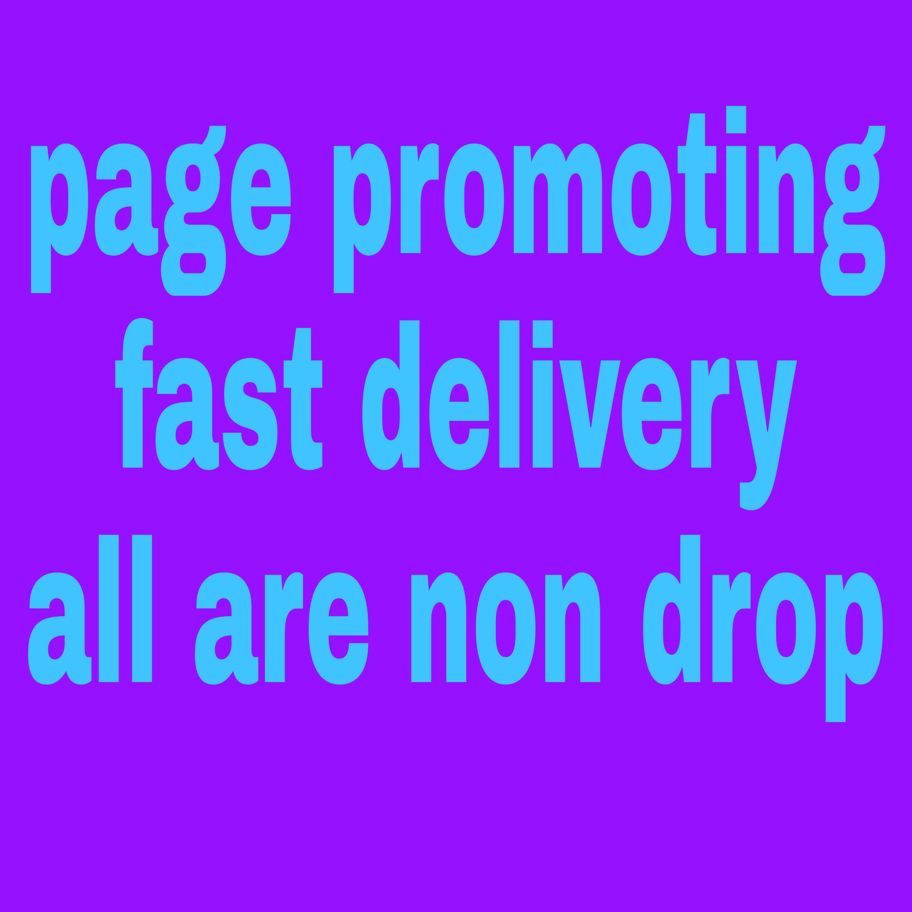 100+ naturally grow world wide page promotion with fast delivery