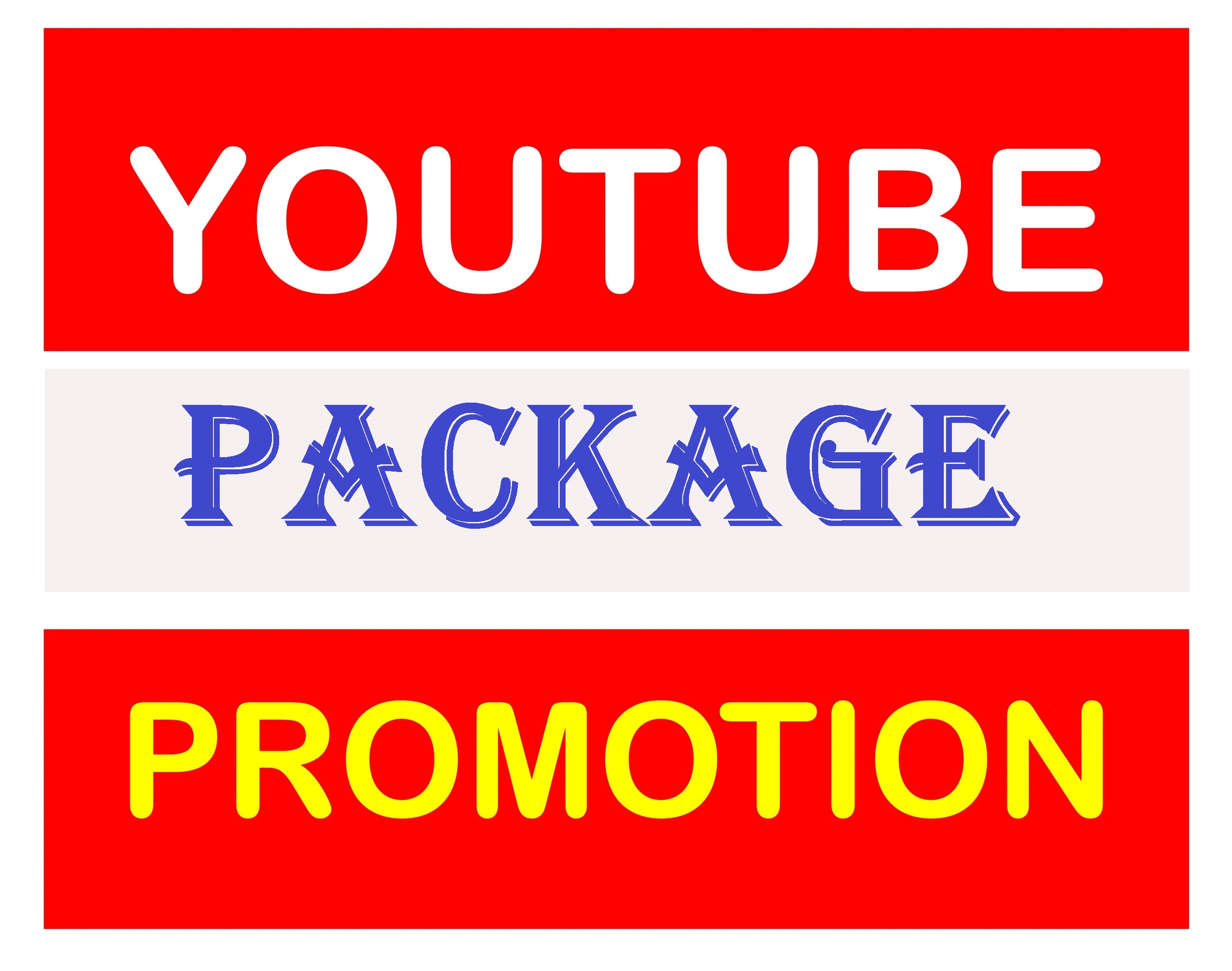 Natural Organic YouTube Video Promotion Pack All In One Super Fast
