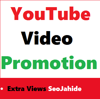 YouTube Video Viwes Promotion Via Real World Wide User