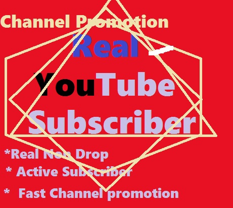 YouTube Chanel Promotion Via Real User