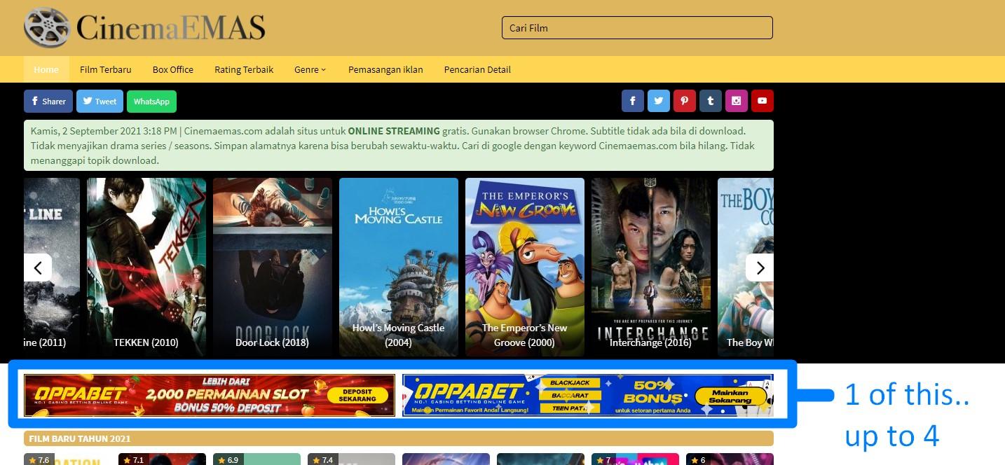 Header Banner Cinema Emas Indonesia 729x90