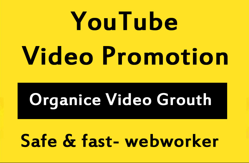 YouTube video Promotion Through social media marketing