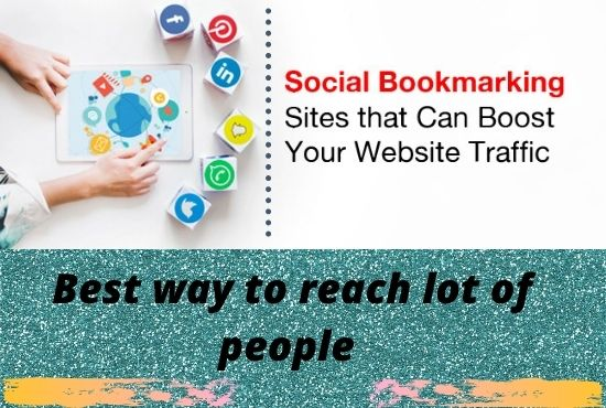 I will do 150 social bookmarking for your website