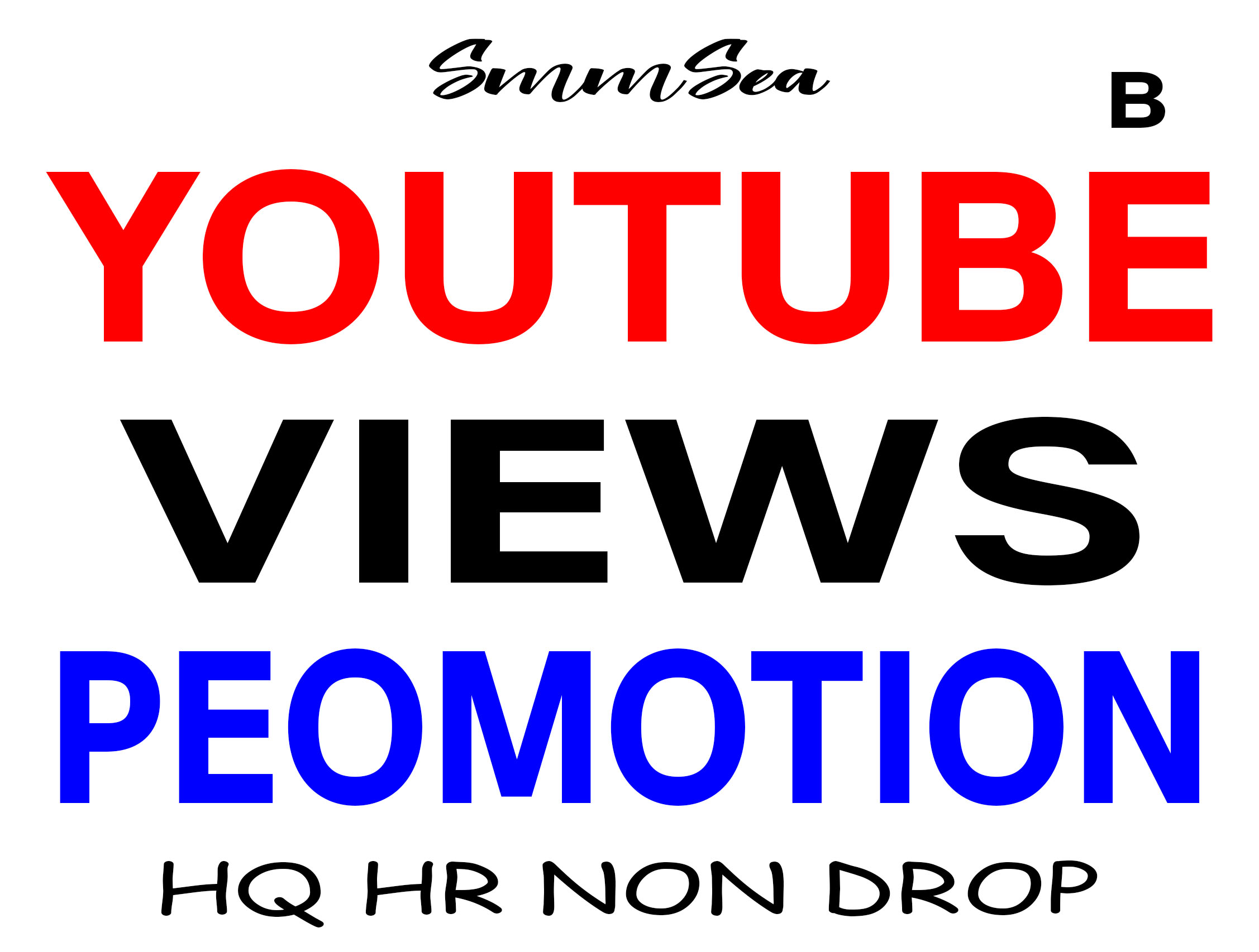 HIGH QUALITY & NON DROP YOUTUBE VIDEO PROMOTION WITHIN 24 HOURS