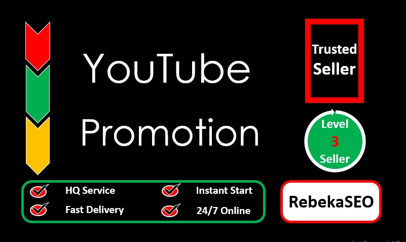 I will provide best YouTube Promotion,  start within 06 hours