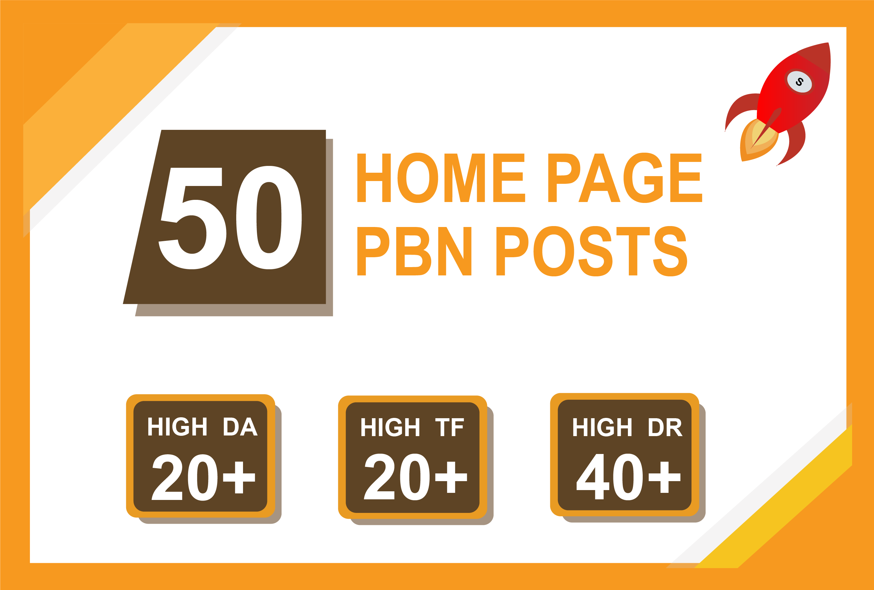 Build High Quality 50 HomePage Dofollow PBN Backlinks To Improve Your Website