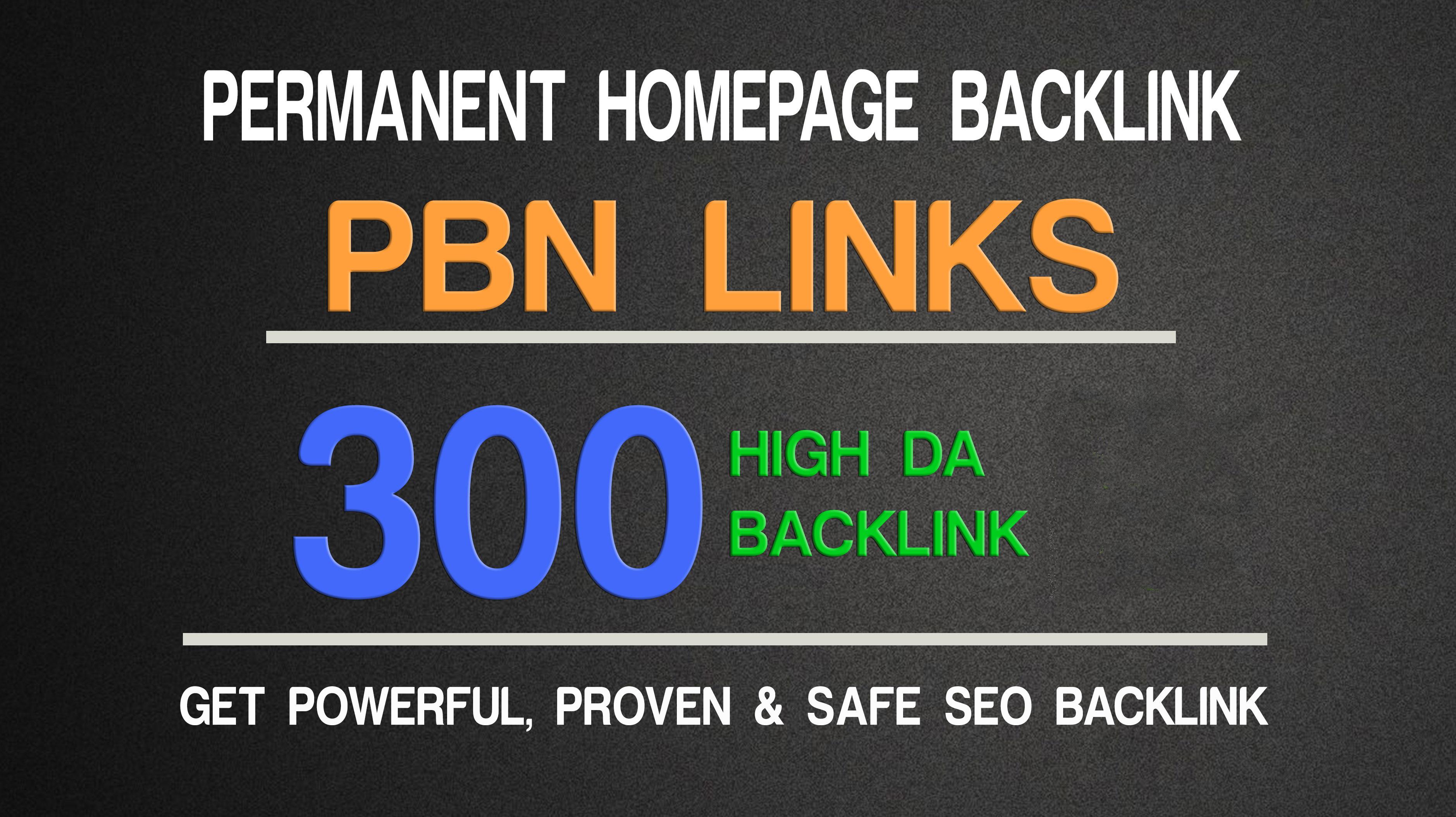 Write & Post 300 Unique High DA PA TF CF AGED Quality PBN Domains