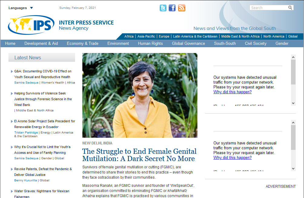 Place a permanent article on Ipsnews. net DA-77 Dofollow backlinks