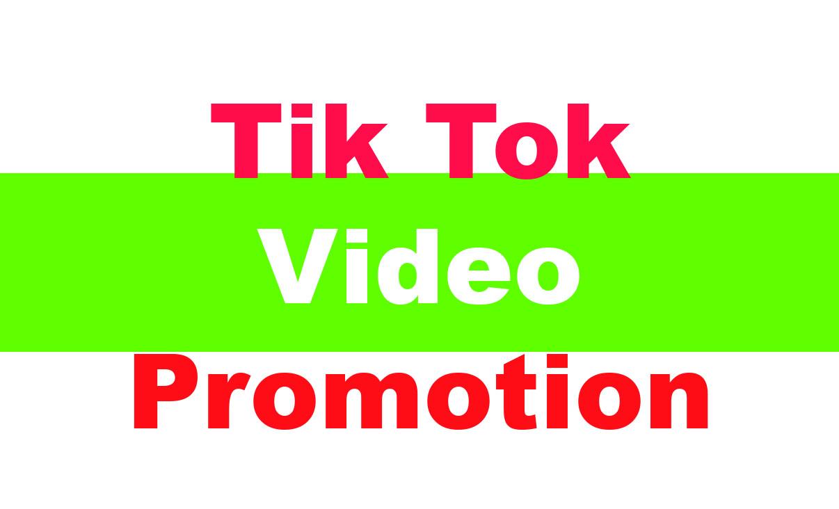 High Quality TikTok Video Promotion