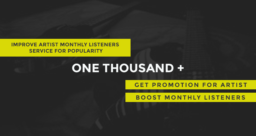 Speedy 1000 Monthly Listeners for Artist Profile - Boost ranking & streams