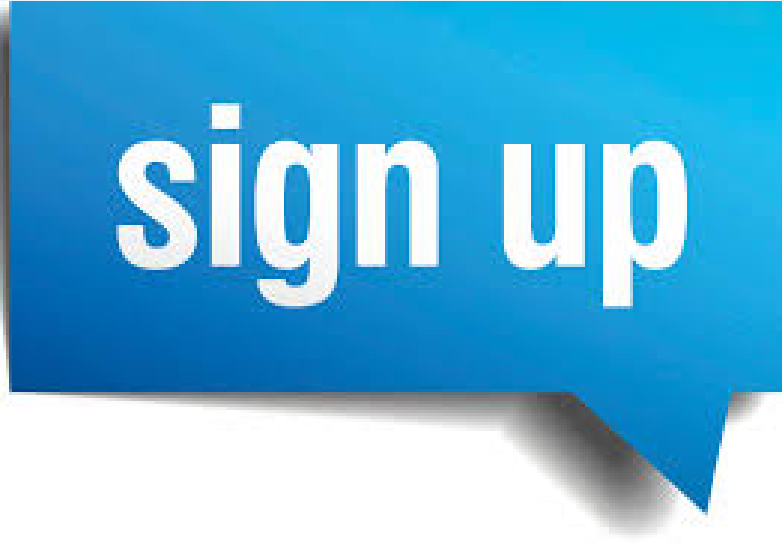 Provide you 50 sign up,  registration,  referrals,  register for your website