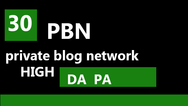 I will provide 30 manual homepage permanent pbn backlink.