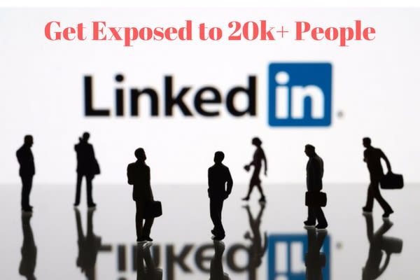 Promote You Or Your Posts On My 23k Linkedin Profile