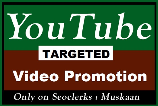 Targeted YouTube video Promotion in UK,  USA,  Italy,  Australia,  CANADA Etc Top Country's