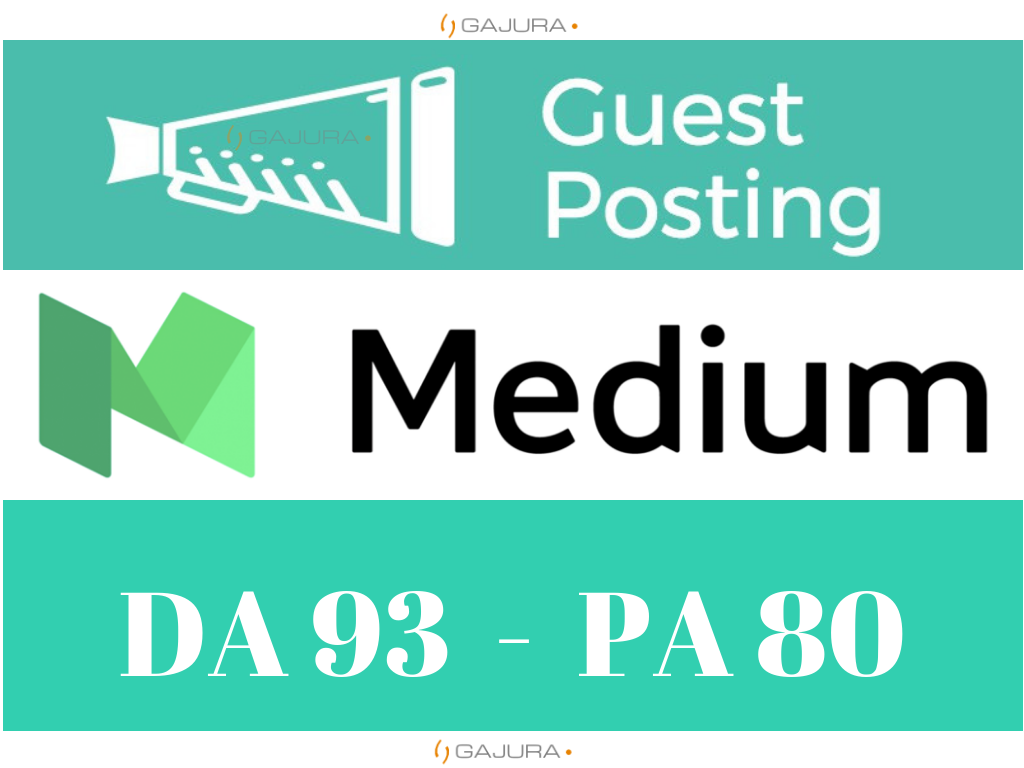 Write and Publish Guest Post on Medium. com DA 93 PA 80