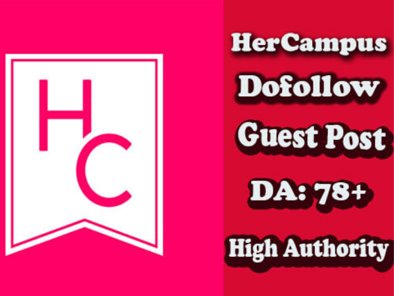Publish guest post on hercampus DA78 high quality backlinks