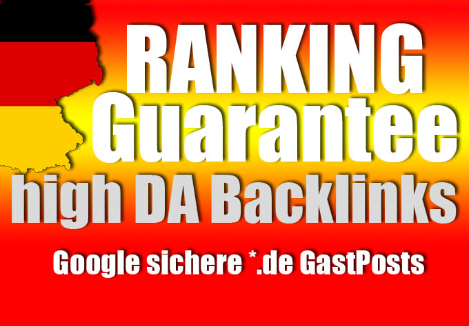 Publish 3X German Guest Posts On High Da German SEO Backlinks