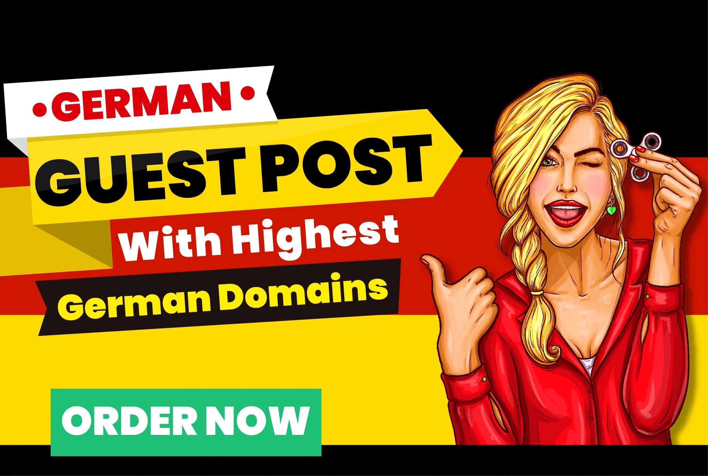 publish german guest posting on high da german magazine