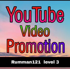 YouTube All Package Promotion With Social Profile Follow