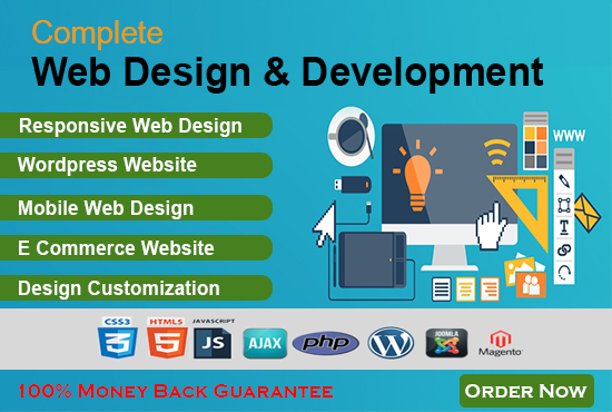 Do Professional and Responsive Website Design