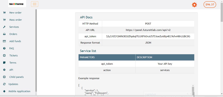 JAP Clone SMM panel automatic Script