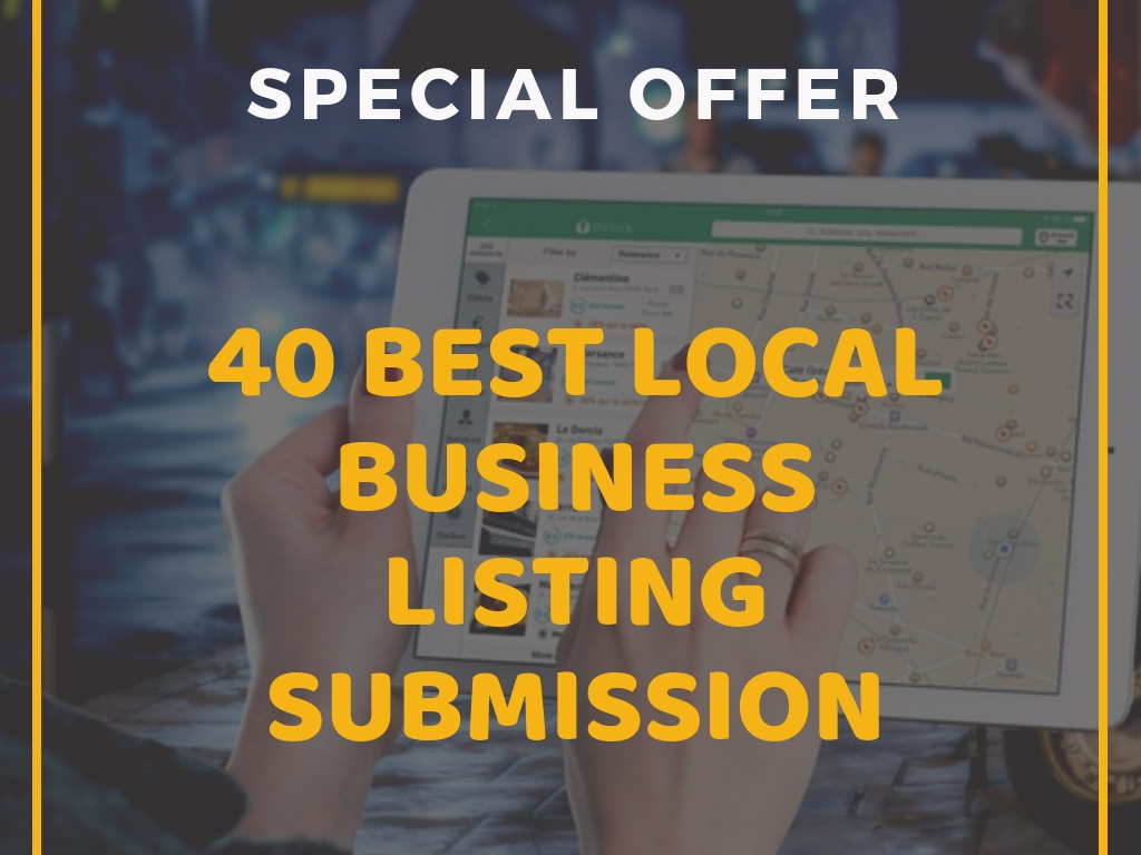 I Will do Quality 40 Local Business Listing Manually