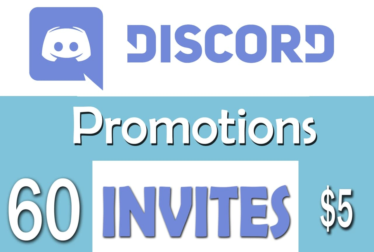 Buy 60 Discord Members or Referrals to Your Server