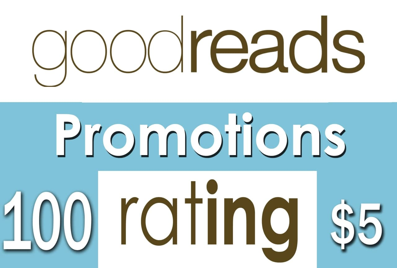 Buy 100 Goodreads Ratings to Your Book