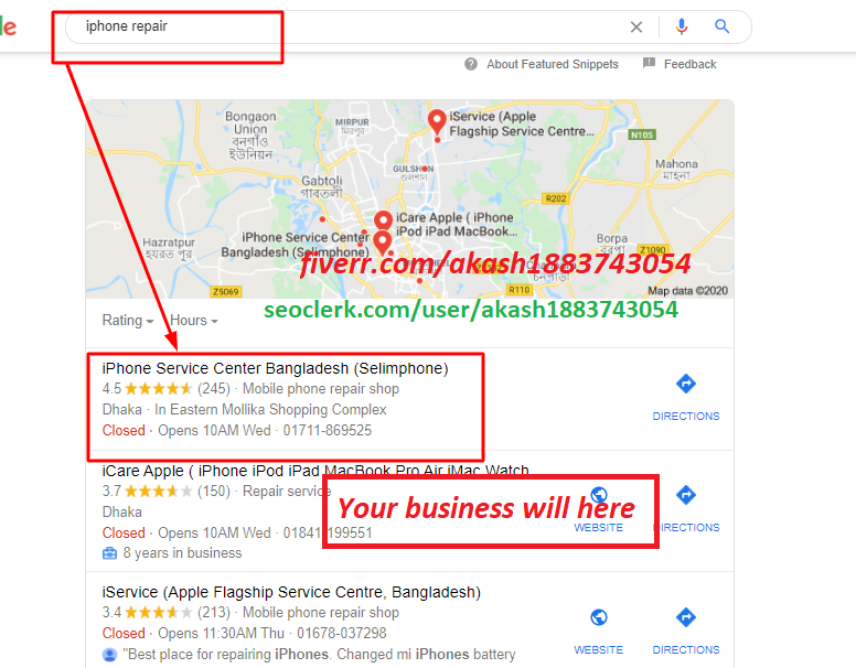 2020 SPECIAL-NEW BULLET PROOF POWER SEO WITH GOOGLE POINT MAP CITATION