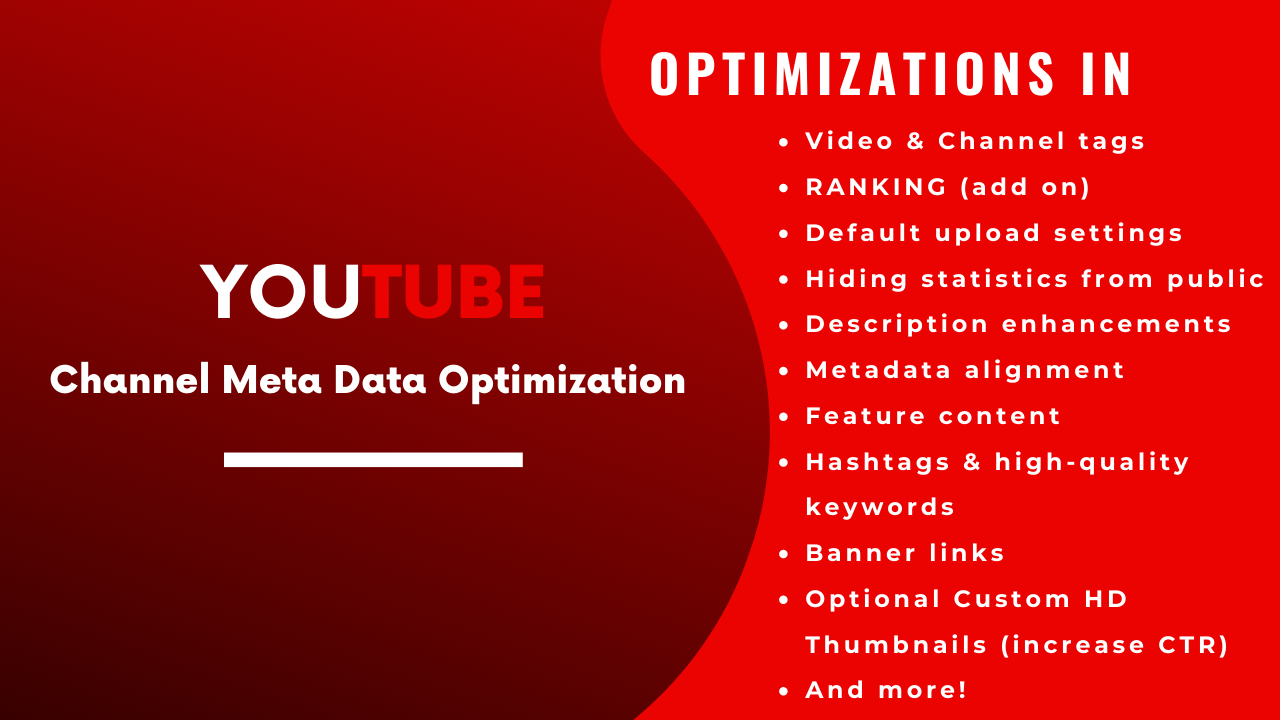 Channel Meta Data Optimization Channel SEO for Grow Faster