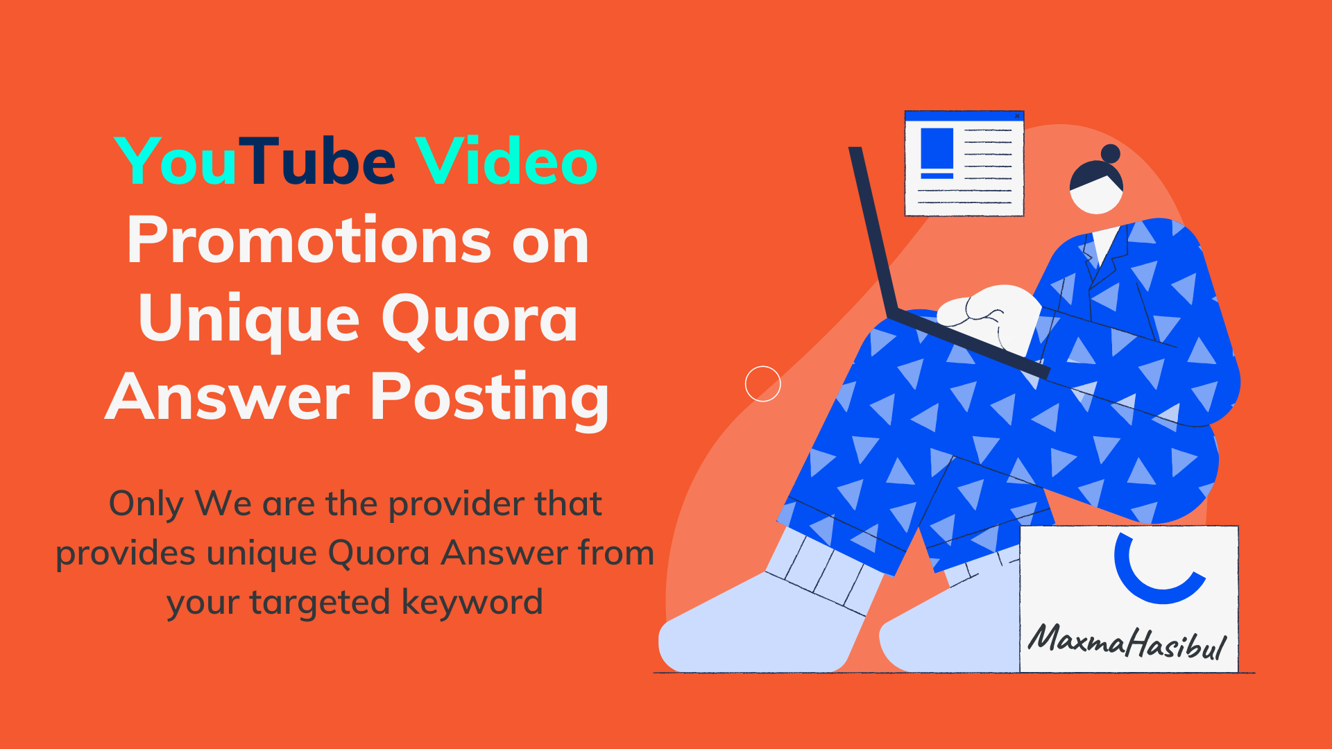 YouTube Video Promotion on Quora Answer Posting with real audience
