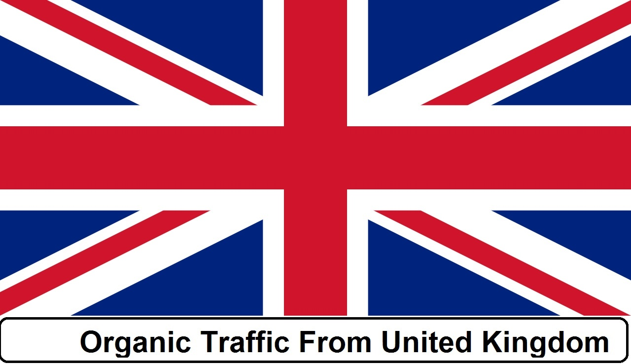 More than 4040 Real Organic Traffic from UK,  USA