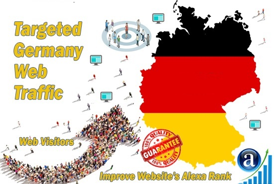 More Than 5555 Real Organic Traffic from Germany