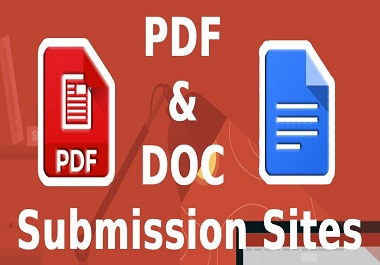 30 Best PDF, 0 Spam score submission site backliks to rank in google by quality link building