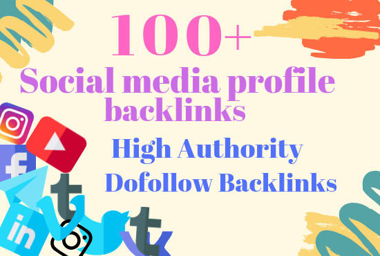 I will Do make 100 high authority social bookmark backlinks for google rankings