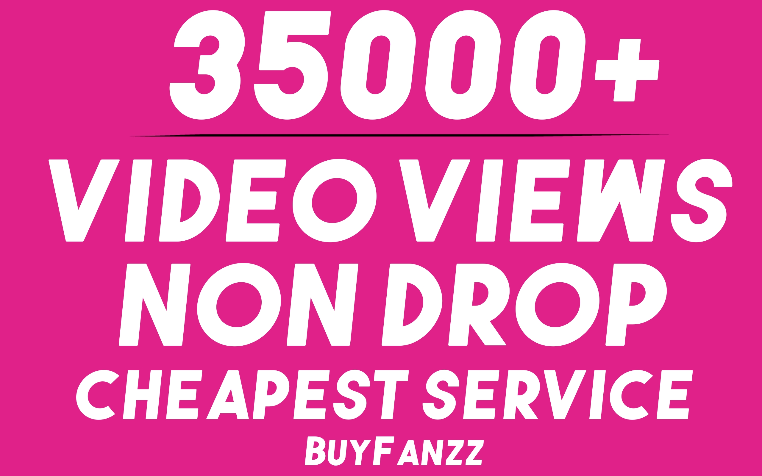 Get 35000+ SOCIAL VIDEO HQ Visitors Promotion Very Fast Speed