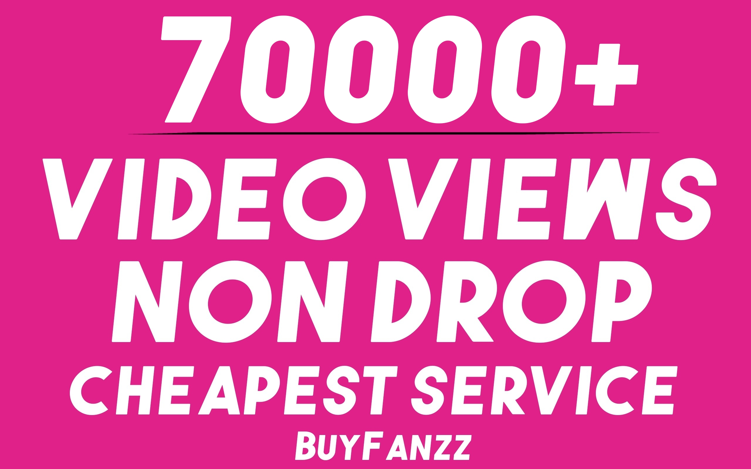 Get 70000+ SOCIAL VIDEO HQ Visitors Promotion Very Fast Speed