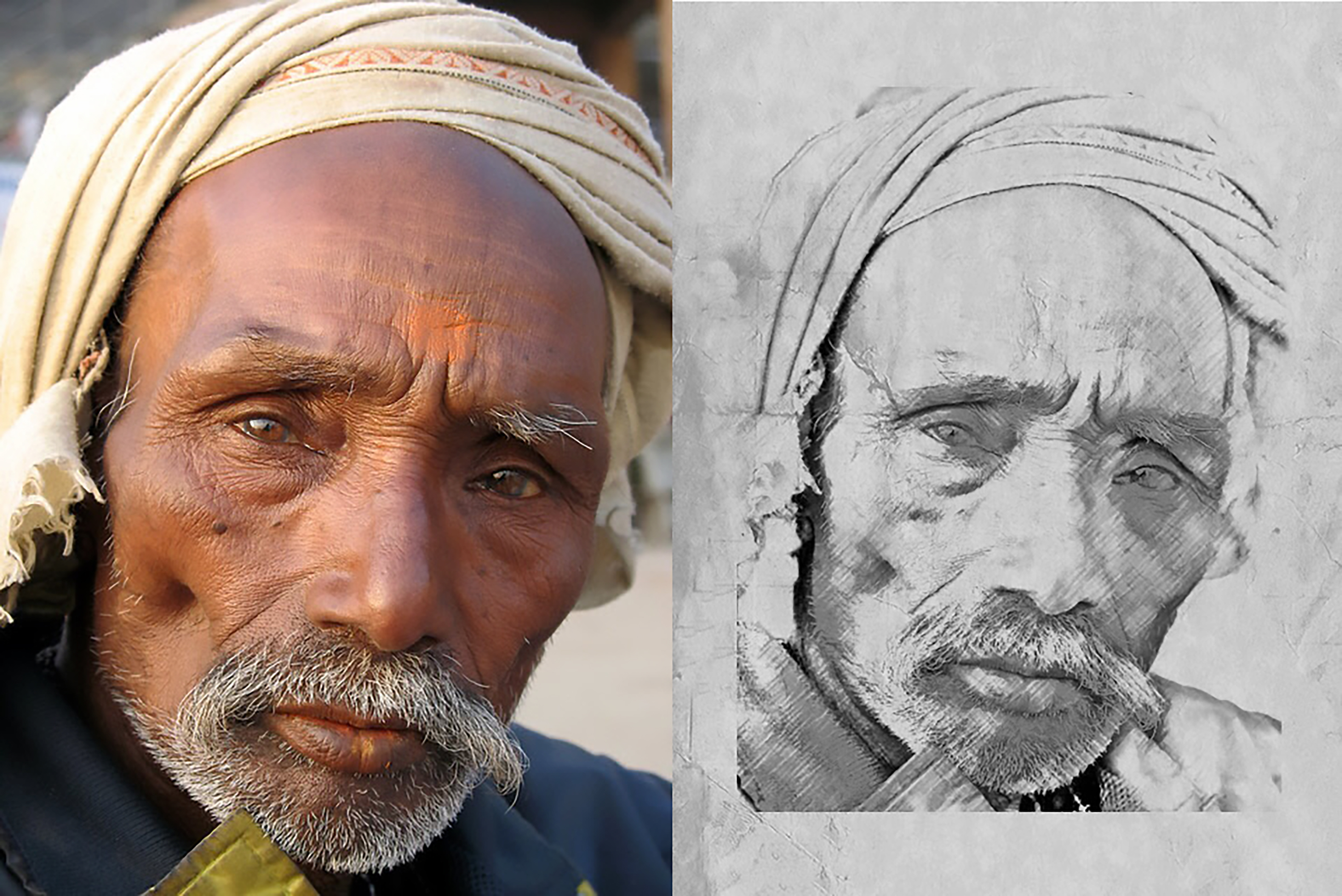 I will turn any photo into realistic pencil sketch