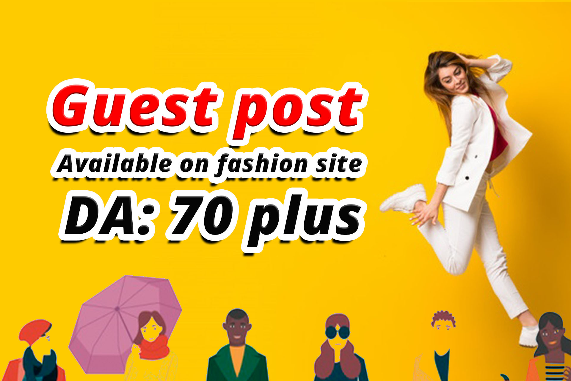 Write and Publish Fashion Guest Post available on DA 70 plus