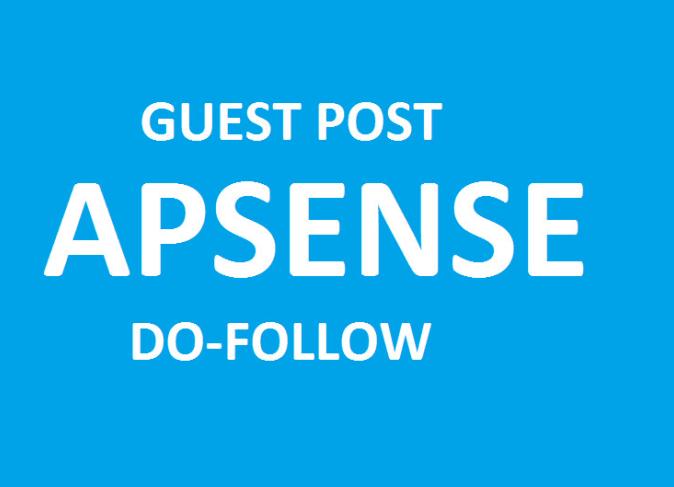 Write and Publish 2 Guest Post on Apsense DA 70 Plus