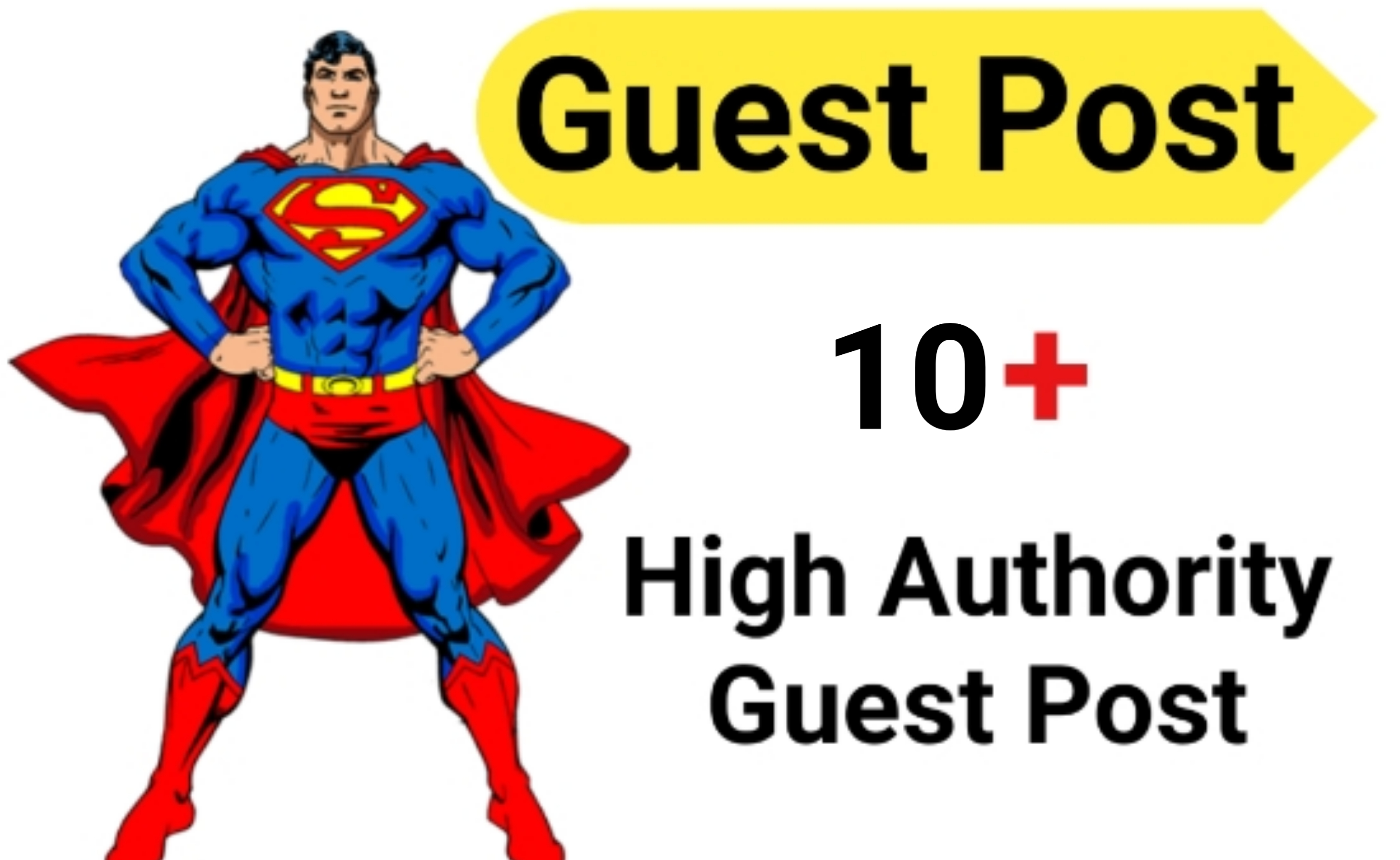 Publish 10 Guest Post on DA with Links