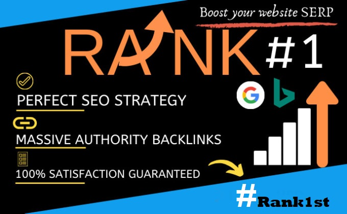 Rank Boost On Exclusive Trusted POWERFUL SEO STRATEGY Package To Increase Your Site Rankings