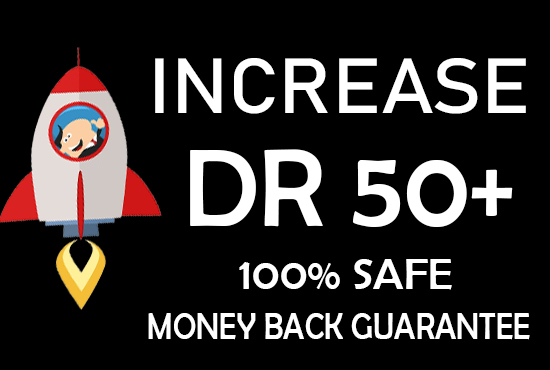 I Will Increase Domain Rating DR 50 Plus In 30 Days